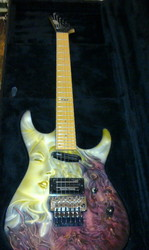 гитара ESP M-II Deluxe с Aэрогафией