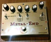 Новая педаль для гитары хай-гейн дисторшн Metal End