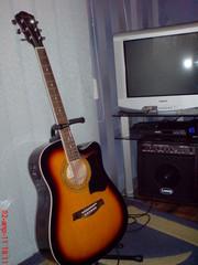 Электроакустическая гитара 6 струнная