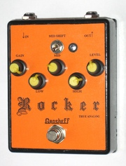 Продамм fuzz Grosheff Rocker ручной работы