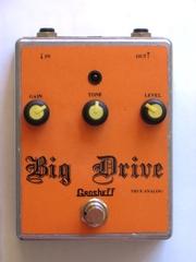 Продам overdrive Grosheff Big Drive ручной работы.