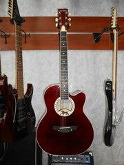 Новая Акустическая Гитара Leo Tone L-17 Cherry
