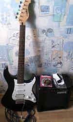 Продам электрогитару Yamaha EG112 с комбиком