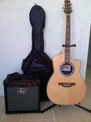 Гитара Электроакустическая с вырезом Stagg A4006 N